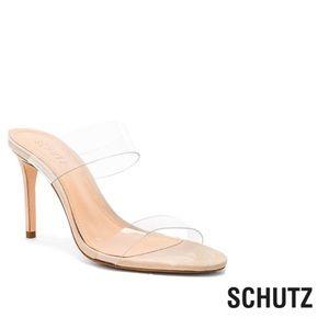 SCHUTZ Ariella CleatNubuck/Vinil Sandals